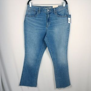 Universal Thread Jeans NWT High Rise Cropped Boot